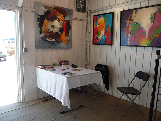 Jeanne artiste peintre expositions st trojan ile d for Garage renault ile d oleron